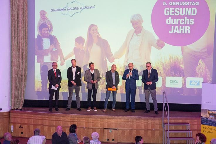 Genusstag Kapfenberg 2018 – Gemeinsam GESUND im Mürztal ©Klaus Morgenstern