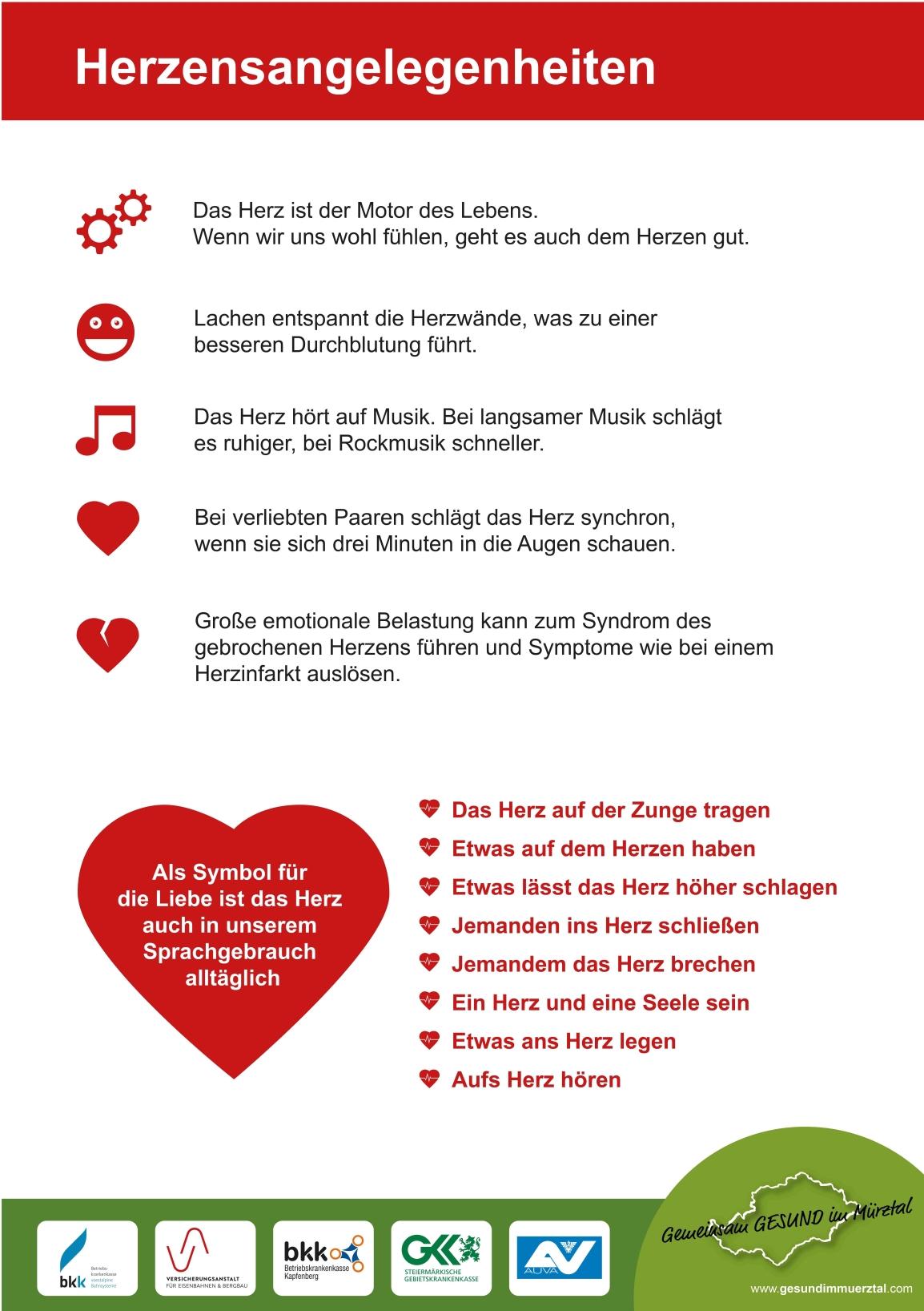 Herzensangelegenheiten – Genusstag Kapfenberg – Gemeinsam GESUND im Mürztal