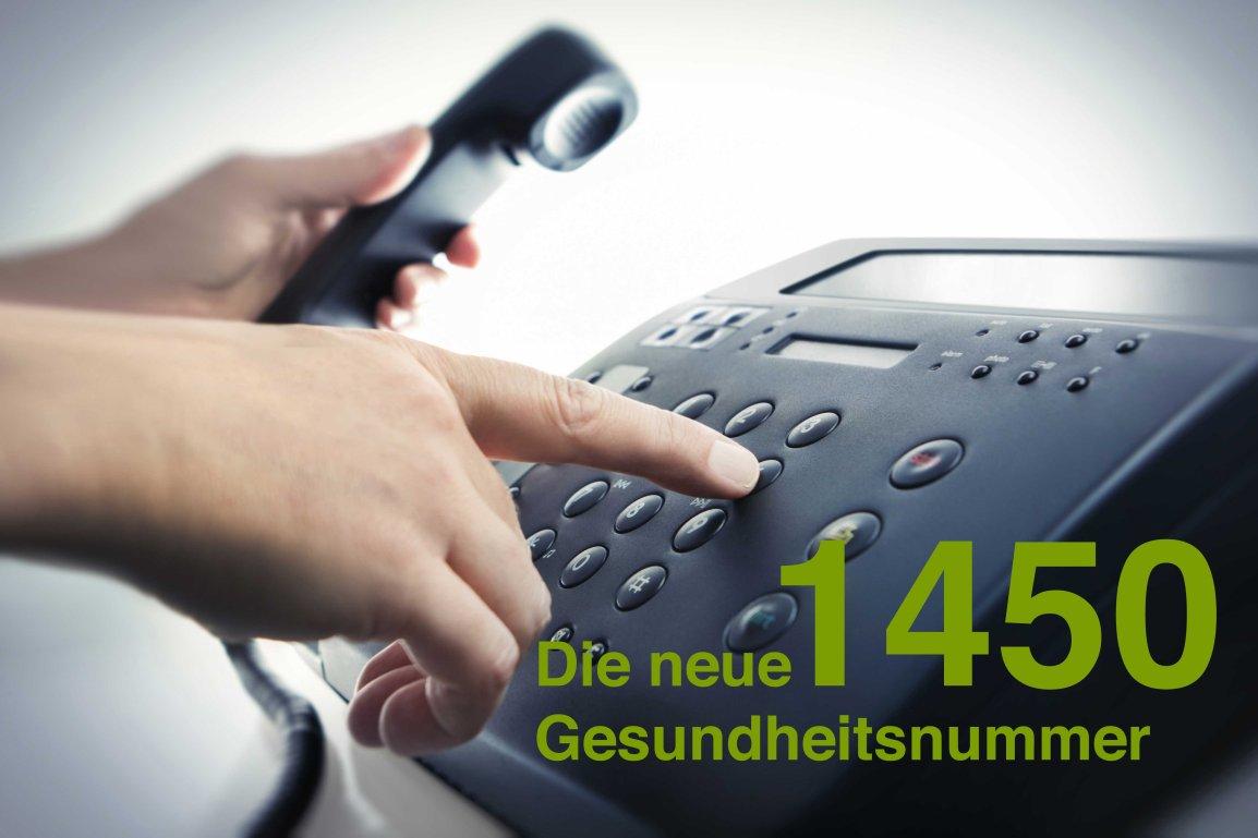 1450 – die neue Gesundheitsnummer