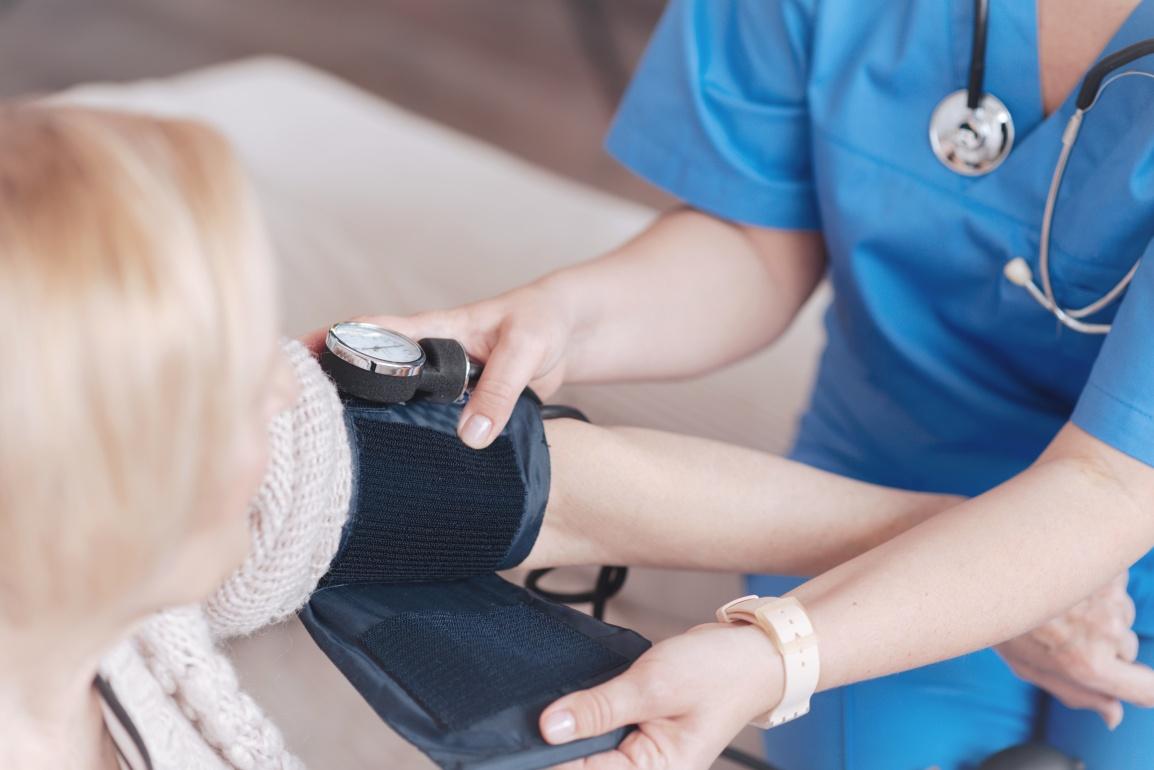 Blutdruck messen – Gemeinsam GESUND im Mürztal – Genusstag Kapfenberg